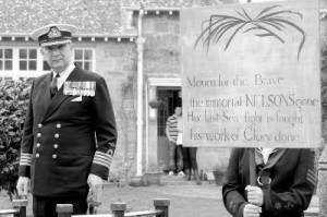 Captain William Entwisle OBE MVO RN Commanding Officer RNAS Culdrose