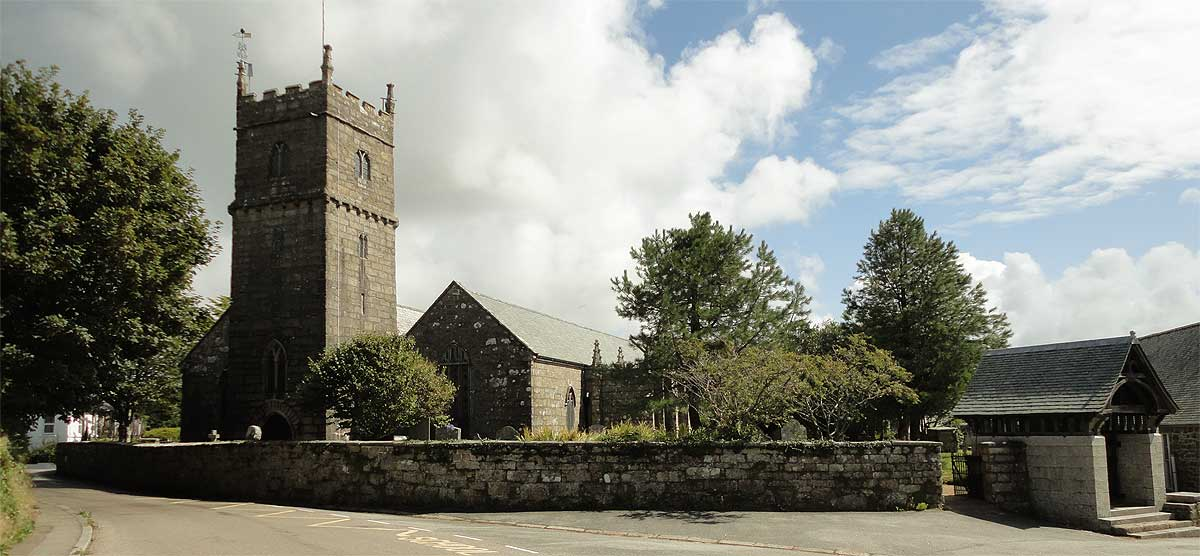 Church of St Maddern is a grade I listed building in Madron